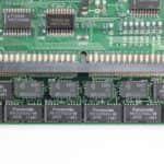 IMC Excalibur EL-386S - Paměť RAM zespodu