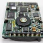 IMC Excalibur EL-386S - Pevný disk zespodu a konektor