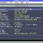 Optimus SA - Test MS-DOS